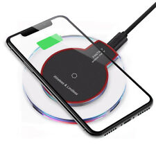 Qi Wireless Charger Charging Pad for iPhone XS/Max/XR/8/Plus Galaxy Note 9/S10