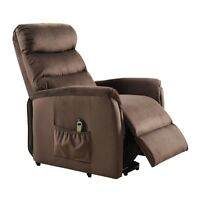 Cozy Electric Lift Remote Control Recliner Home Rest Soft Adjustable Chair Seat