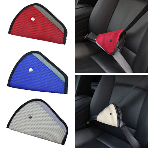 Children Baby New Car Safety Cover Strap Adjuster Pad Harness Seat Belt Clip