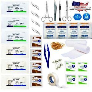Advanced Surgical Suture Kit - 42pcs - Medical Trauma Family Survival Kit - IFAK