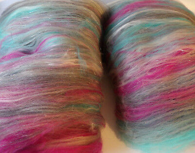 50g Natural Wool Rovings For Felting Spinning British Wool From Dartmoor