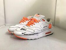 f00b5ae3 Nike Air Max 1 SE JDI Just Do It Collection White Total Orange Black ...