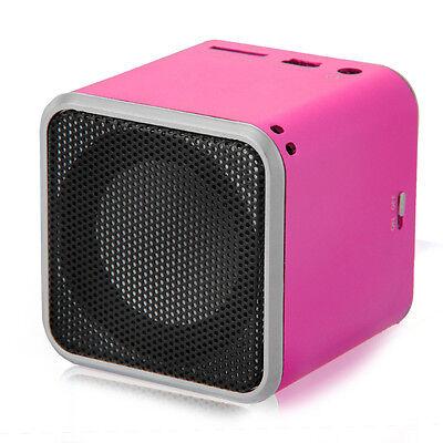 Mini USB Lautsprecher Musik Box Micro SD TF Speaker für MP3 MP4 Handy Notebook