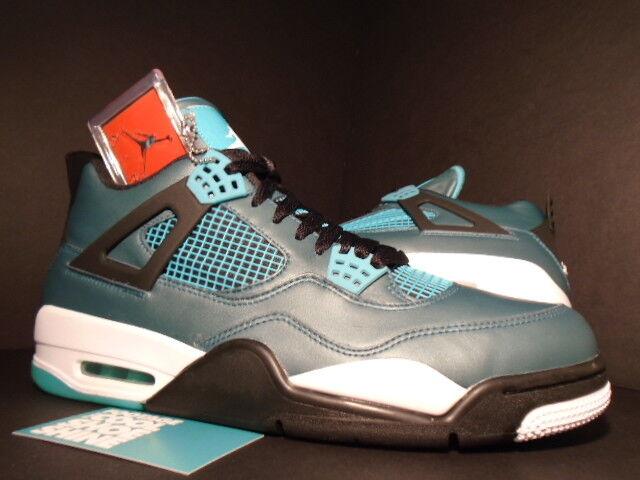 Nike Air Jordan IV 4 Retro 30th TEAL GREEN WHITE BLACK CEMENT GREY 705331-330 13