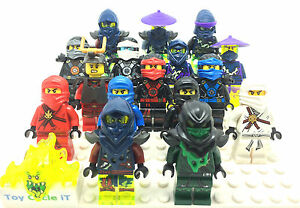 LEGO-Genuine-Ninjago-Minifigures-To-Choose-From-Kai-Jay-Cole-Zane-Nya-ETC