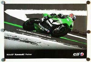 Vintage Poster 2006 Shinya Nakano Kawasaki ZX-RR NInja MotoGP ELF