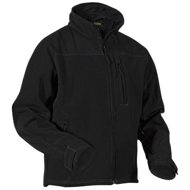 blaklader  Soft Shell  Jacke Gr.  S  black   4834   NEU!!!