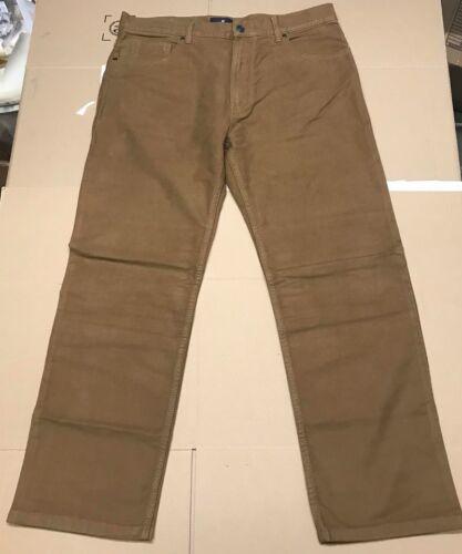 M/&s Blue Harbour Soft Moleskine Jeans Regular Fit W40 L31 tabac Menswear New