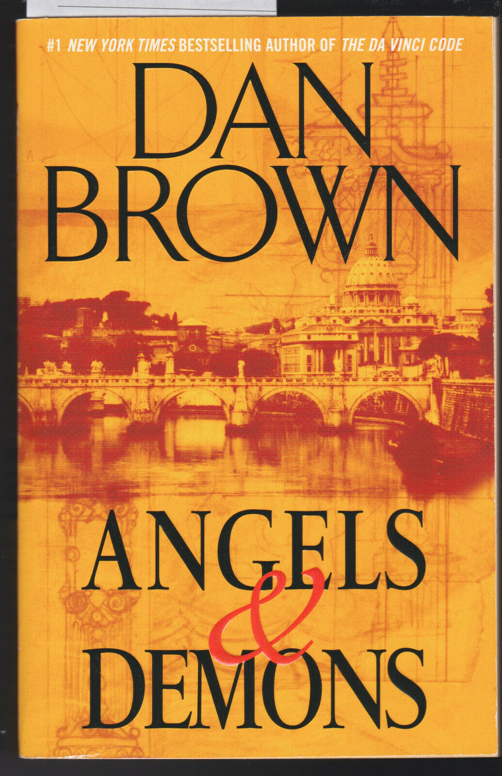 Angels and Demons  A Novel by Dan Brown 20, Trade Paperback ...