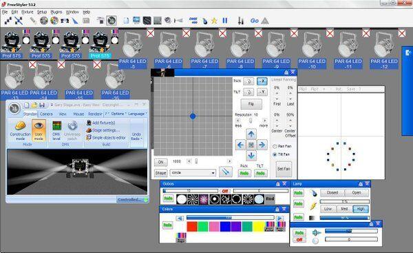freestyler dmx software