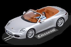 Carrera Evolution 1 32 Slot Car 27535 Porsche 911 Carrera S Cabriolet NEW