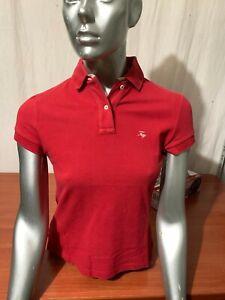 wholesale dealer 41540 5a702 Dettagli su POLO FAY T-SHIRT SWEATSHIRT MAGLIA DONNA WOMAN ROSSO RED PD-23