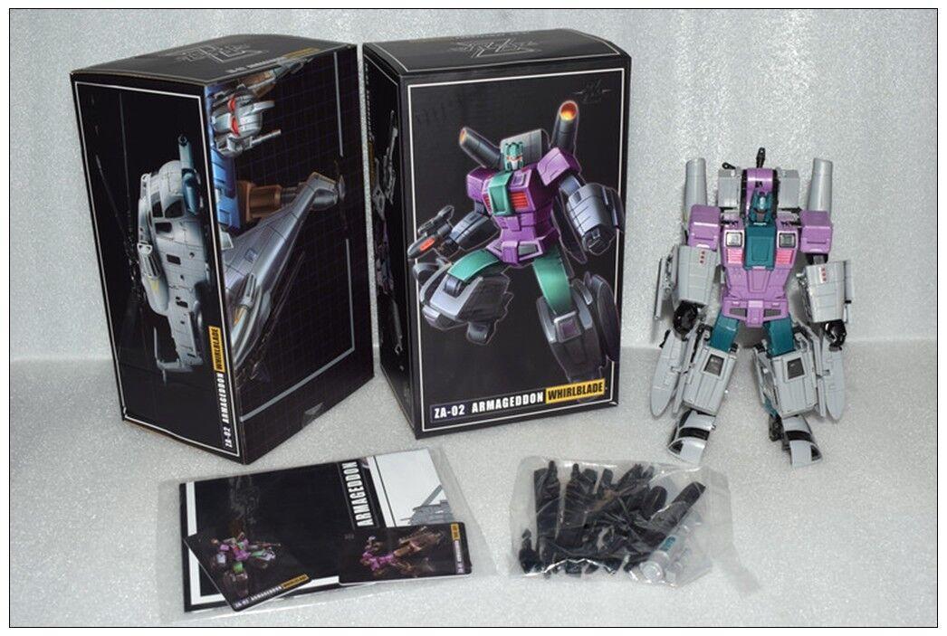 Transformers GIOCATTOLI ZETA ZA-02 Armageddon whirlblade G1 VORTEX Nuovo In Magazzino