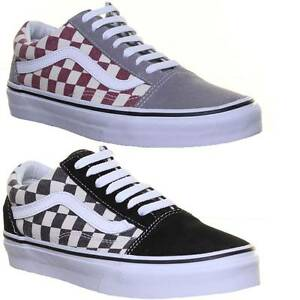 vans old skool a damier