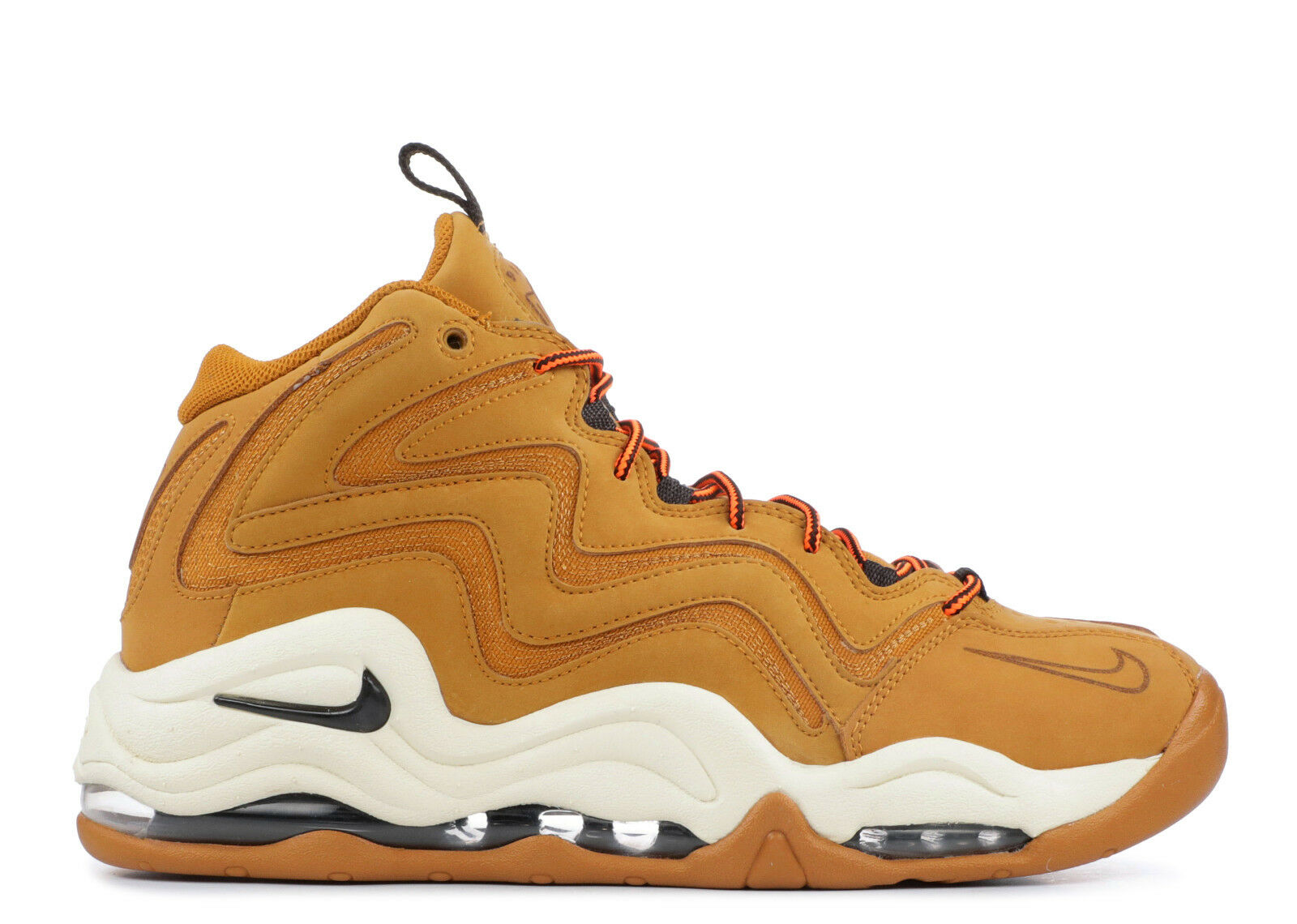 Nike Air Pippen Fuel 325001-700 Wheat Wheat Wheat Leather Basketball Men 6a3cf4