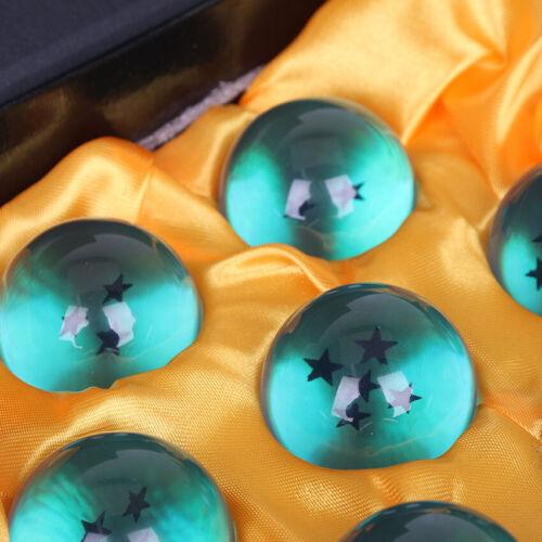 DRAGON BALL Z 7 BOULES DE CRISTAL AVEC BOITE ORANGE OU BLEU