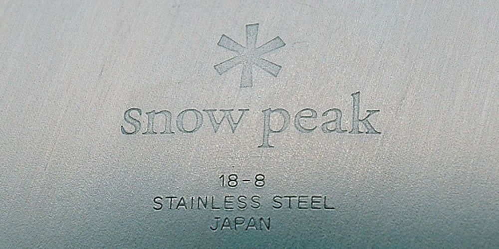 New Snow Family Peak Tableware Set L Family Snow Type TW-021F Stainless Steel Free Shipping ef0880