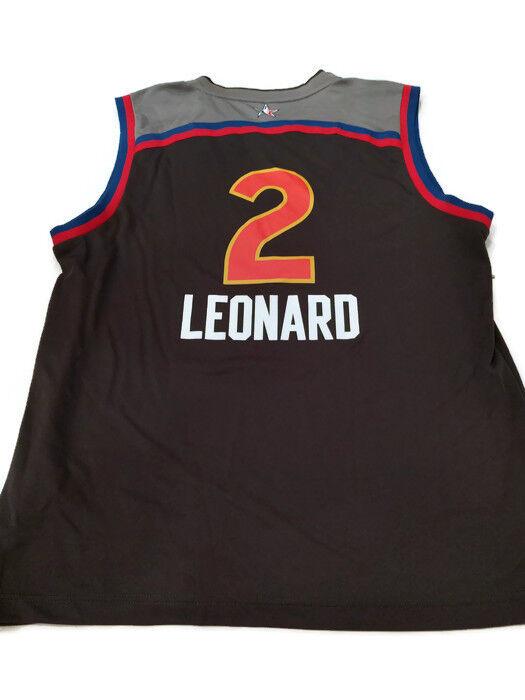 Kawhi Leonard NBA Adidas All-Star 2017 West Replica Jersey - Mens (NWT)
