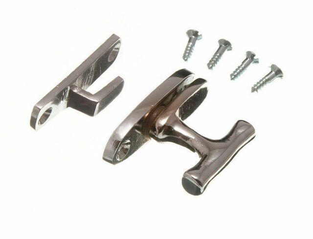 NEW SHOWCASE CABINET CATCH FASTENER CP CHROME WITH SCREWS ( pack of 100 )