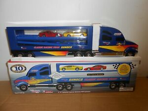 toy truck sunoco racing team no 10 in tenth of series serialized