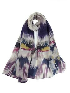 New-Design-Waves-Zigzag-Pattern-Soft-Large-Scarves-For-Women-Wrap-Sarong-Gift