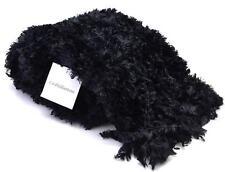 Winter Croft & Barrow Women's Black Soft Fluffy Warm Snow Stretch Scarf Soft