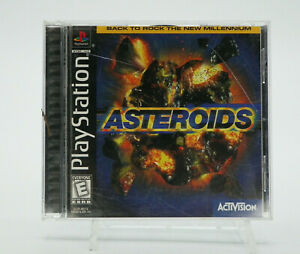 Asteroids PlayStation 1 PS1 Game Complete Tested Free Shipping