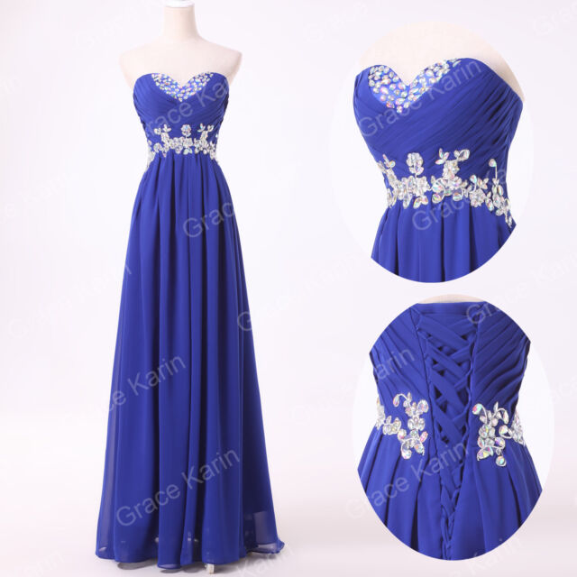 PLUS SIZE Long Chiffon Bridesmaid Formal Evening Gown Party Cocktail Prom Dress
