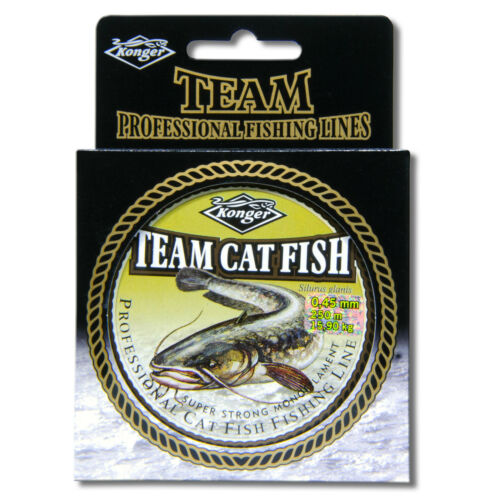 Mono ligne de pêche 200m super strong clear catfish bateau barbeau brochet carpe tackle