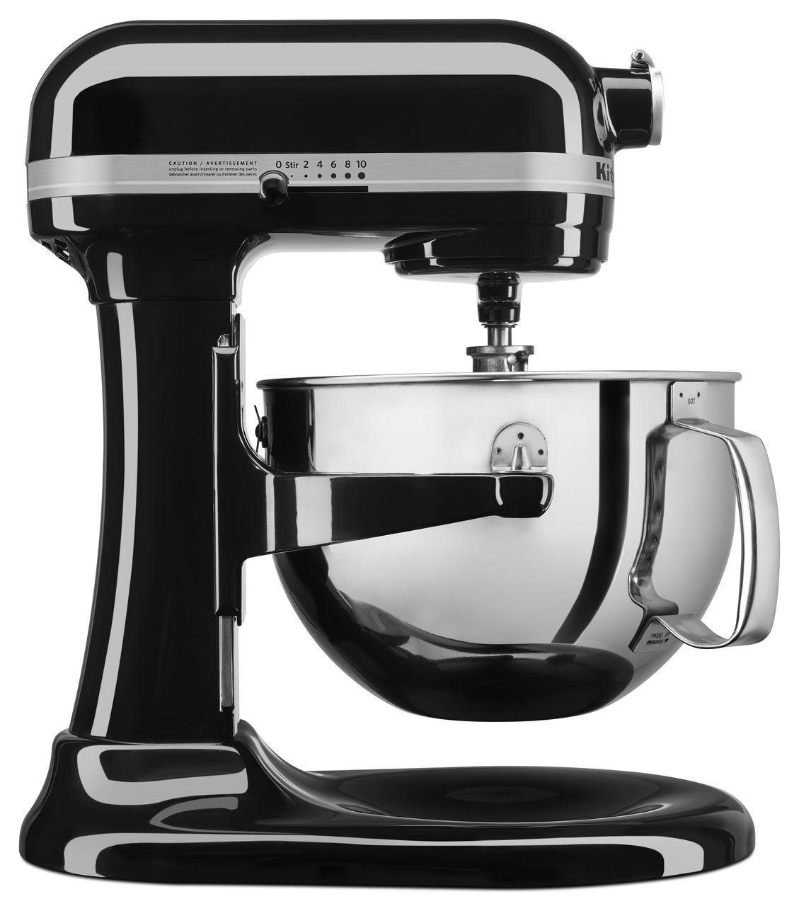 NOUVEAU   KitchenAid Professionnel KL26M1XOB 6-Qt. Bol-Lift Stand Mixer-Onyx Noir