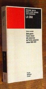 CHESNEAUX-BASTID-la-Cina-Vol-II-1885-1921-p-e-1974-Einaudi-PB-231-F