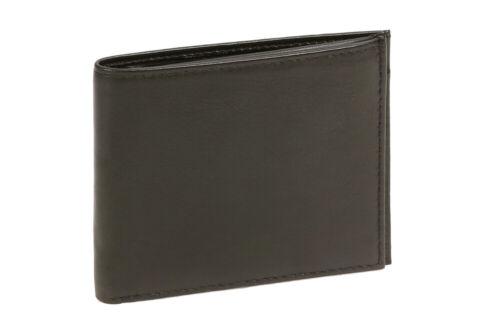 LEAS Dollar//Money Clip Geldscheinklammer Schnapp-Kleingeldfach Ledergeldbörse