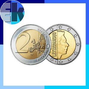 Ek // 2 euro Luxembourg # Pièce Nueve : Sélectionnez une Année :