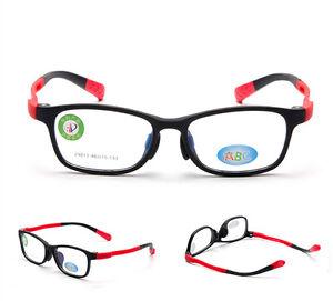 df9218fa54 Image is loading Children-Flexible-Glasses-Frame-Student-Kids-Optical-TR90-