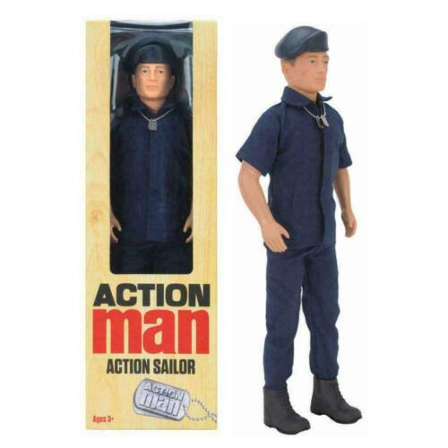"""ACTION MAN LIMITED EDITION PILOTE MARIN SOLDAT 12/"""" HASBRO Action Figure"""