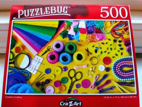 New 500 Piece Jigsaw Puzzle Creative Crafting