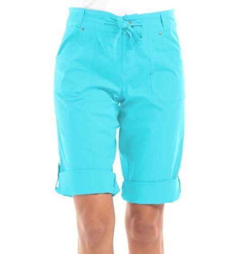FRESH PRODUCE XXL Luna BLUE Safari Stretch Broadcloth PEDAL Pushers $75 NWT New