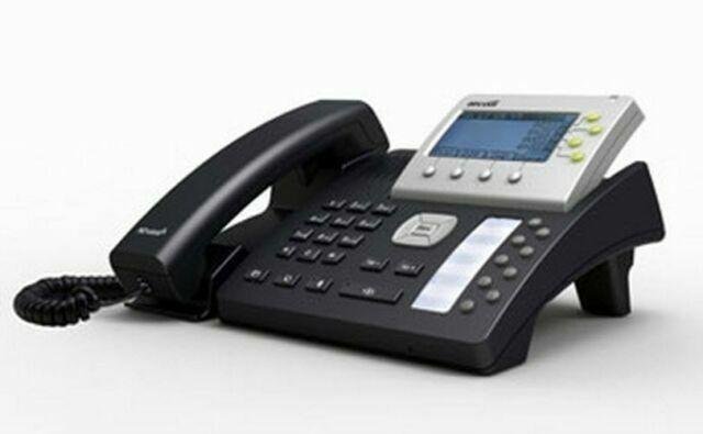 ATCOM AT840P 4 Lines LCD PoE Asterisk SIP IP Desk Wall Phone w BLF PBX Perfect