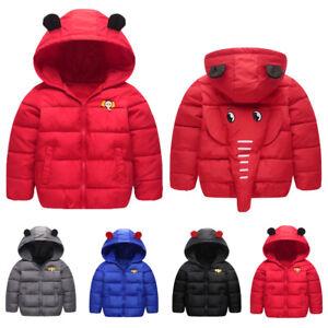 17a91695916d Infant Baby Kid Girl Boy Winter Hooded Coat Cloak Jacket Warm ...