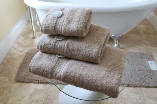 Cazsplash Organic Cotton 650gsm High Quality Stone Towel Set