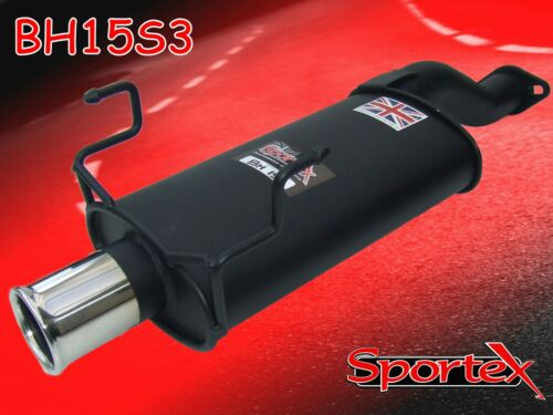 Sportex Honda Civic Type R EP3 exhaust back box 2001-2007 S3