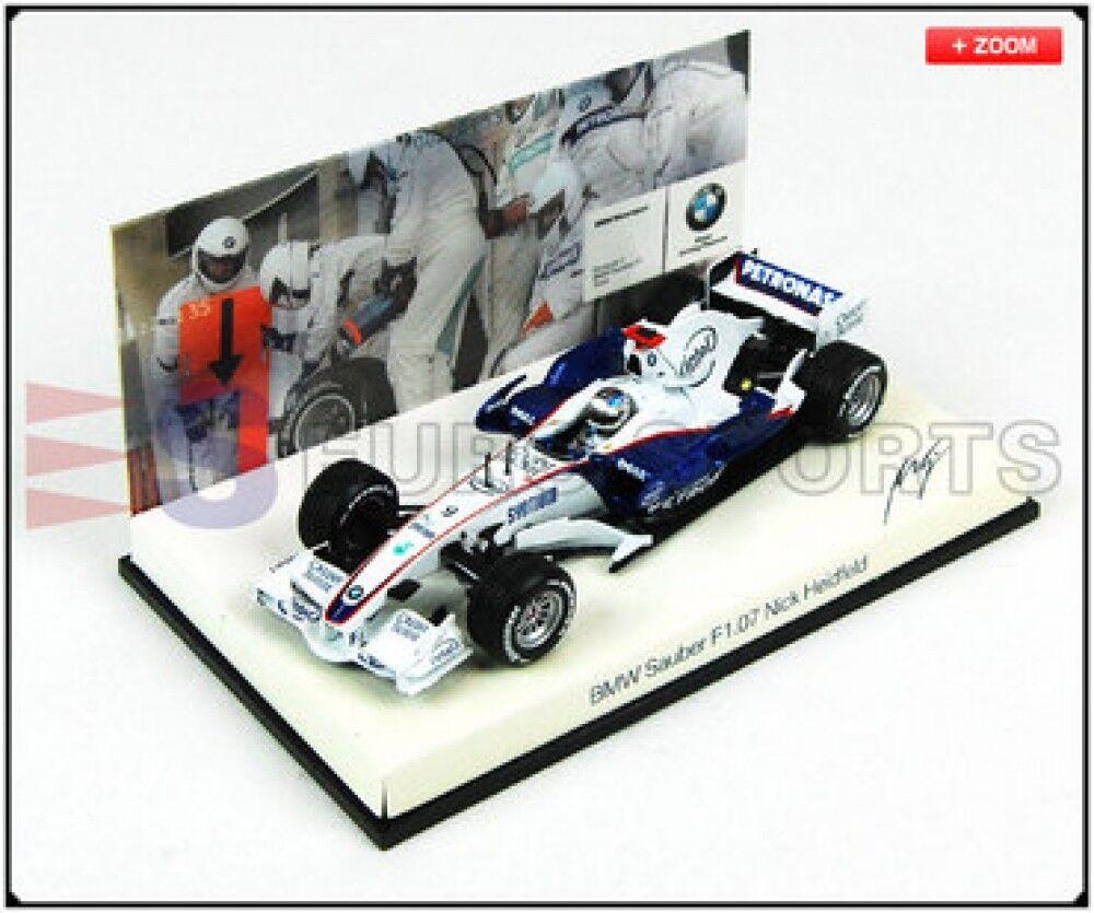 Nuovo BMW dealer bespoke PMA 1/43 BMW Sauber F1.07 N. Heidfeld Model car Japan