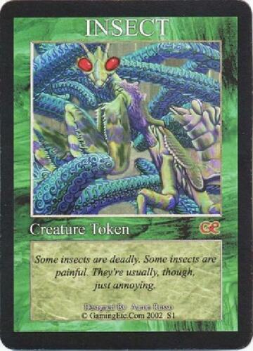 Insect Creature Token played MTG Token Magic
