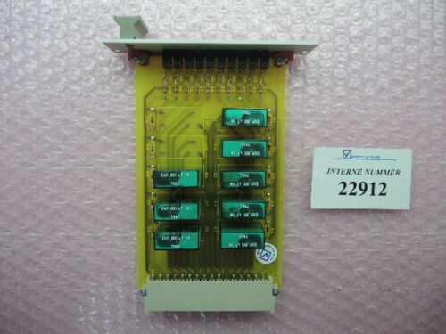 Amplifier card RBG 8 - 4986, Demag NCIII