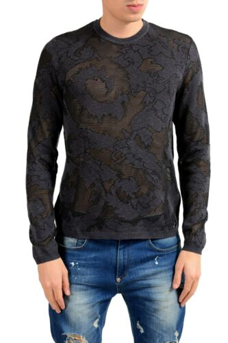 cuello talla cuello Versace hombre de Sujetador Xl para L redondo Collection M con redondo tx8qvUS8