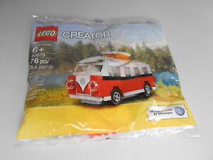 Lego Creator 40079 Polybag Mini VW T1 Camper Bully NEU incl.versicherter Versand
