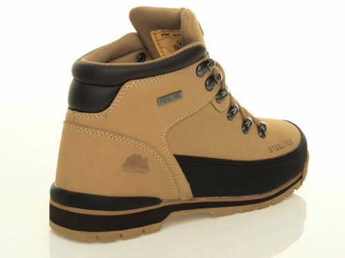 LADIES WOMENS MENS LIGHTWEIGHT STEEL TOE CAP WORK SAFETY BOOTS SHOES TRAINERS SZ