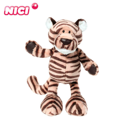 nice Plush toy stuffed doll jungle forest cartoon animal tiger birthday gift 1pc