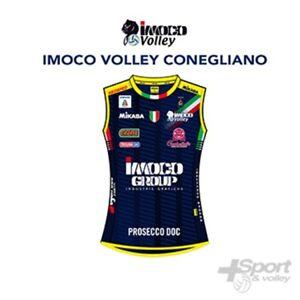 Dettagli su Prima Maglia gara volley Mikasa Ufficiale Imoco Conegliano donna MT249 060