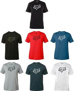 Fox-Racing-Legacy-Fox-Head-T-Shirt-Short-Sleeve-Tee-Mens-Motocross-MX-MTB